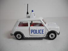 Meccano Ltd. Dinky Toys #250 H MINI COOPER POLICE CAR . RESTORED NEAR MINTY
