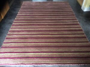 SEASONS 8' x 5',  BRAND NEW,  HAND WOVEN, BEAUTIFUL RUG...FREE  DELIVERY.