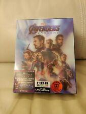 Avengers Endgame HK 4K+2D Bluray Boxset with Lenticular cover, New/Sealed