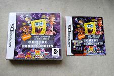 Jeu BOB L'EPONGE & ses amis contre les ROBOTS-JOUETS pour Nintendo DS