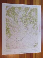 Campbellsburg Kentucky 1954 Original Vintage USGS Topo Map