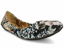 Lucky Brand Women's Emmie Flats Shady Spruce Size 7 Wide