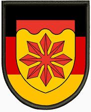 Wappen von Meerbusch Aufnäher, Pin, Aufbügler