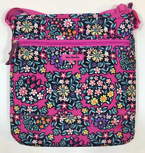 Vera Bradley Lighten Up Slim Crossbody in Kaleidoscope Rosettes