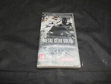 Sony PSP Game Metal Gear Solid Peace Walker Brand New Sealed Dutch Version