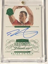 2013-14 Flawless BLAKE GRIFFIN All Star Achievements AUTO Emerald Green 2/5