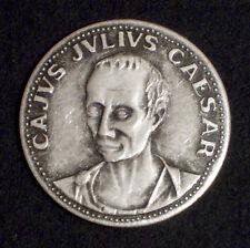 MEDAGLIA - CAJUS JULIUS CAESAR - LE GRANDI FIGURE DI ROMA - 1980