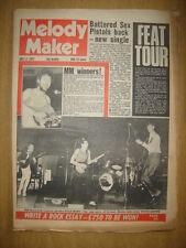 MELODY MAKER 1977 JUL 2 STAA MARX PUNKS SEX PISTOLS