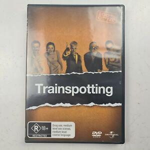 Trainspotting - DVD R2 & R4 - Ewan McGregor Johnny Lee Miller -Free Tracked Post