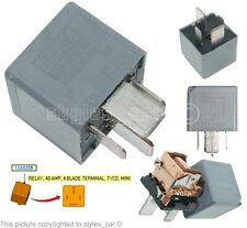 1425754 Genuine Ford Multi-Use 4-Pin Micro Grey Relay 70 AMP FoMoCo 5M5T14B192EA