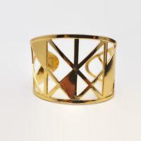 Gorjana Maya Cuff Gold Tone Bracelet