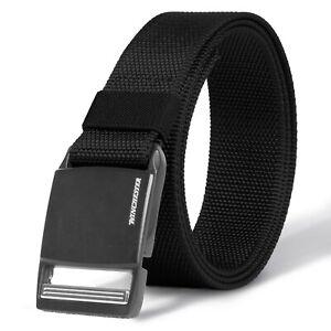 Winchester Tactical Belt Magnetic Buckle, Nylon Heavy Duty Work Belt For Men