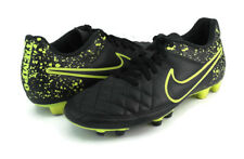 Nike  Men's Tiempo Black/Yellow Athletic Shoes/Cleats 631287-010 Size 7. 5