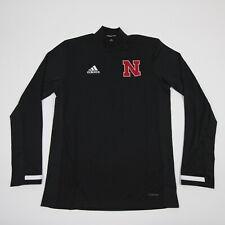 Nebraska Cornhuskers adidas Pullover Men's Black New with Tags