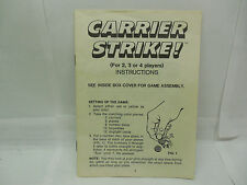 CARRIER STRIKE GAME RULES(1976 MB game)