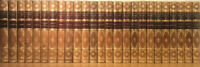 LEATHER Set;SIR WALTER SCOTT,WAVERLY NOVELS!Complete Original(1886!)VERY GOOD!