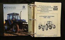 1991 1995 Original New Holland Ford 7840 8240 8340 Tractor Parts Catalog Manual