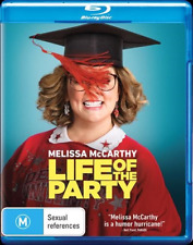 Life Of The Party (Blu-ray, 2018) NEW