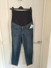 Size 8 H&M Mama Maternity Jeans, Boyfriend, Over The Bump
