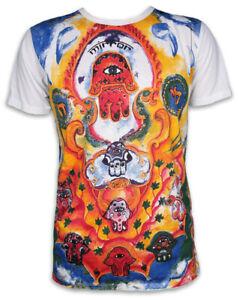 MIRROR by SURE T-Shirt Herren Hamsa Hand Schutz Symbol Om Fatima Goa Yoga M L XL
