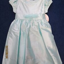 Will'beth girls size 2T dress aqua blue new w/tags and slip