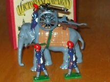 Trophy Indian Army with Elephant and Gun toy soldiers Mib