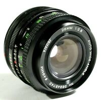 Vivitar 28mm F2.8 Auto Wide Angle lens - Canon FD mount UK Fast post