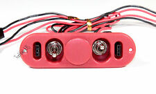 Heavy Duty RX Dual On/Off Switch W/ 4-Cable Lock, RC Servo, Engine (US SELLER)