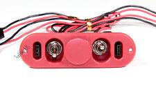 Heavy Duty RX Dual On/Off Switch W/ 4-Cable Lock, RC Servo, Engine  US 022-03302