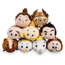 US Disney Store Beauty and the Beast Mini Tsum Tsum Complete set of 9 NWT! Belle