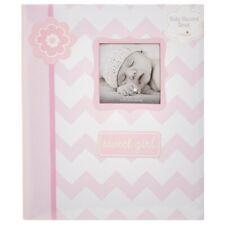 My Baby First Memories Book - Lil Peach Girl Zigzag Pink - Keepsake Record Album
