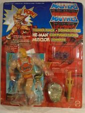 Masters Of The Universe MOTU Vintage Thunder Punch He-Man Multi-Lingual Card