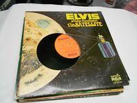 ELVIS ALOHA FROM HAWAII -VIA SATELLITE 2 record set VINYL LP records  EUC