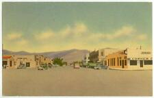 1940s Alamogordo New Mexico Tenth Street Looking East