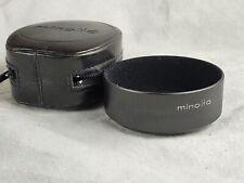 Minolta 55 Mm Lens Shade Metal