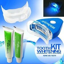 Home LED Teeth Kits Tooth Whitening Whitener Dental Bleaching White Oral Gel Kit