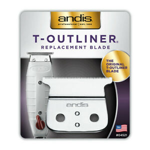 Andis 04521 T-Outliner Replacement Blade GTO Trimmer The Original Stylist Barber