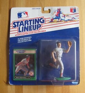 Mike Greenwell--Boston Red Sox--1989 Kenner Starting Lineup Action Figure