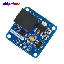 DC-Jack 7-12V to 5V/3.3V Step-down Buck Power Supply Converter Module Arduino