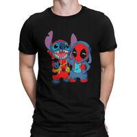 Stitch x Deadpool Best Friends T-Shirt, Lilo and Stitch Funny Disney Tee