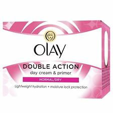 Olay Double Action Moisturiser Day Cream & Primer Normal Dry Skin Classic 50ml
