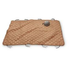 Military Style Wet Weather Poncho Liner Camping Blanket - Woobie Coyote Tan