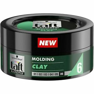 Schwarzkopf Taft Looks Molding Clay for Hair Level 6 Ultra Strong Fixing 75 ml