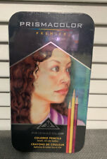 Prismacolor Premier 36 Colored Pencils New In Metal Tin Protective Case New