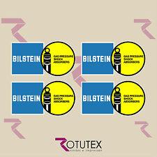 X4 BILSTEIN SHOCK ABSORBERS ADHESIVE STICKER STICKER DECAL AUFKLEBER AUTOCOLLANT