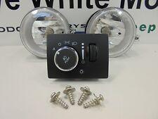 11-13 Challenger SE SXT V6 Fog Lights Driving Lamp Kit Complete New Mopar OEM
