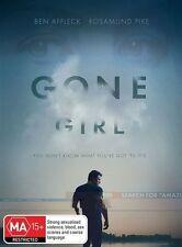 Gone Girl DVD 2015 Rated Ma15 Region 4 PAL Ben Affleck