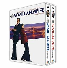 McMillan & Wife Complete Hudson Series All Seasons 1-6 Box DVD Set Collection TV