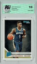 Zion Williamson 2019 Donruss Basketball #201 Gem Mint Rookie Card PGI 10