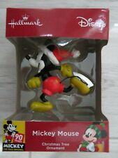 Disney Christmas Tree Ornament Mickey Skating - NEW - Sealed